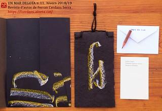 Un mar degota n. 11, revista d'autor de Ferran Cerdans Serra