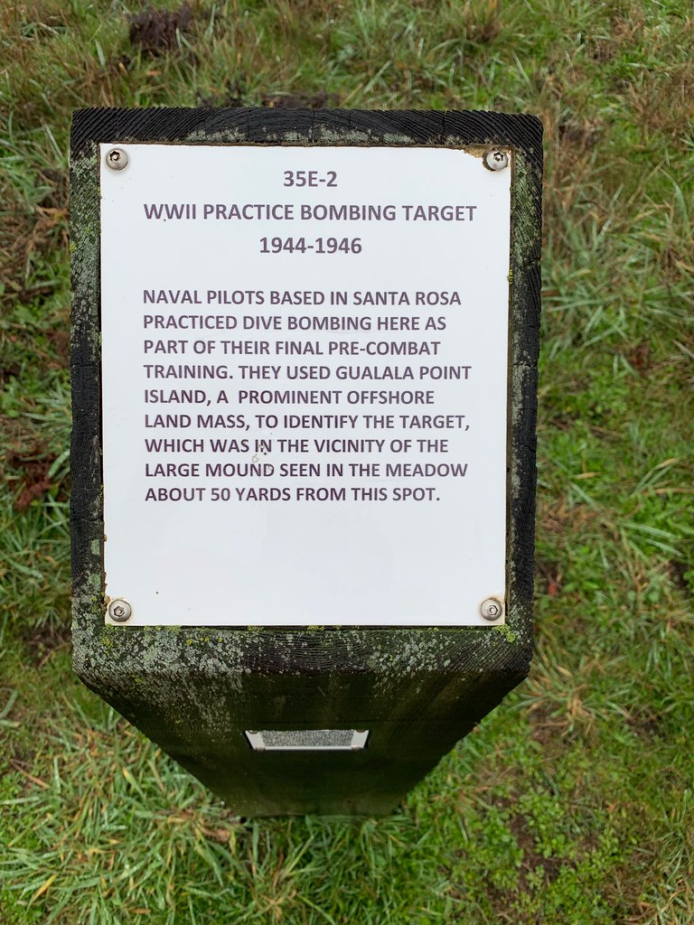 WWII Practice Bombing Target