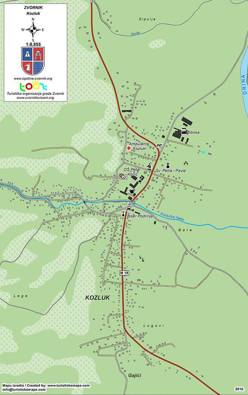Карта Козлука