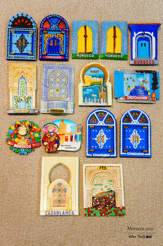 Morocco Fridge Magnets