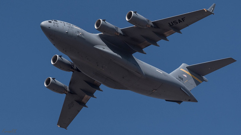 USAF C-17 Globemaster III (5147, Hawaii)