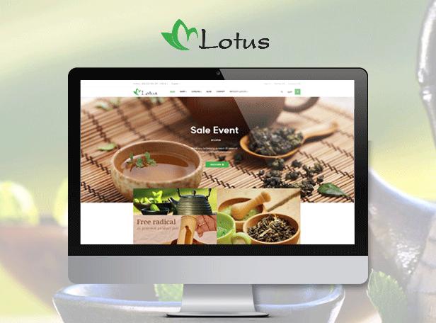 Ap Lotus Tea & Drink Prestashop Theme - Tea & Drink