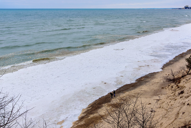 Ice Locked Shoreline