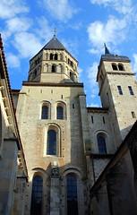 The Abbaye de Cluny, Saône-et-Loire, France.