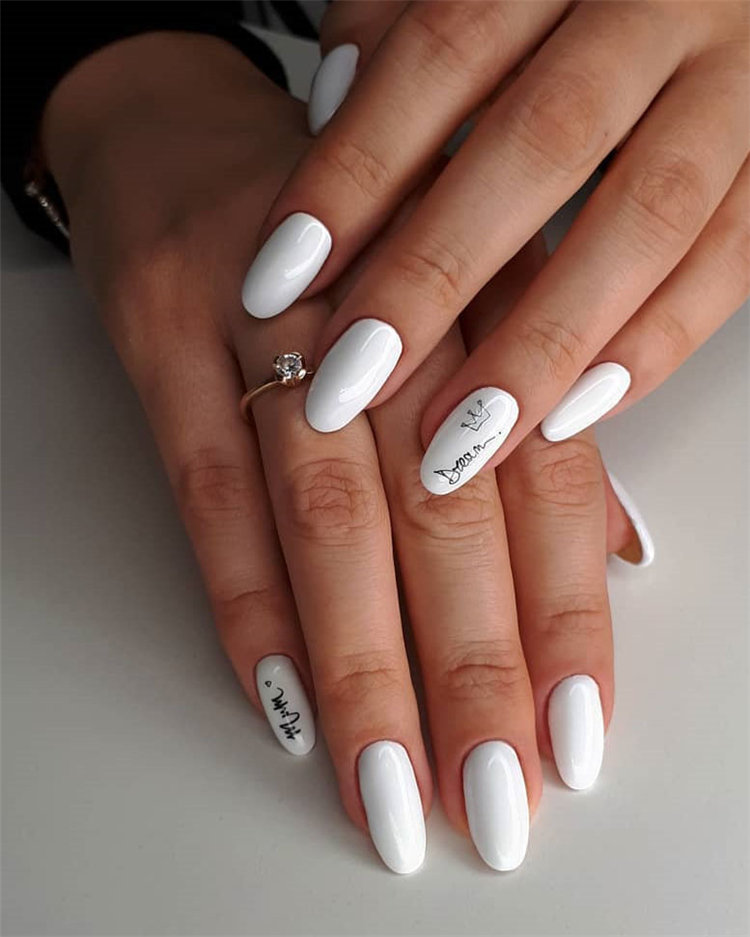 The Best Summer French Tip Gel Nail Design - Fashion 2D