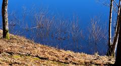 Lac de St Mathieu, Haute Vienne, France.