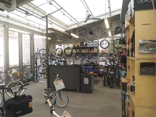 LA Metro bicycle hub, Union Station, Loa Angeles