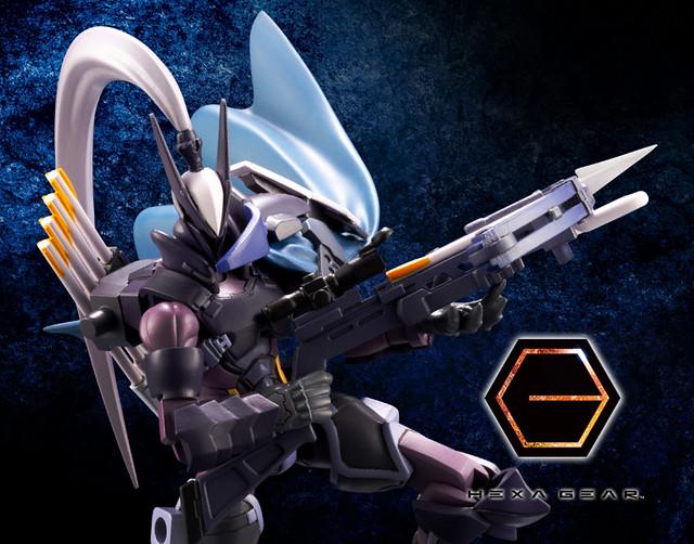壽屋《HEXA GEAR 六角機牙》1/24 KIT BLOCK 超感官知覺獵人 Governor EX Armor Type: Quetzal(ガバナー エクスアーマータイプ:ケツァール)
