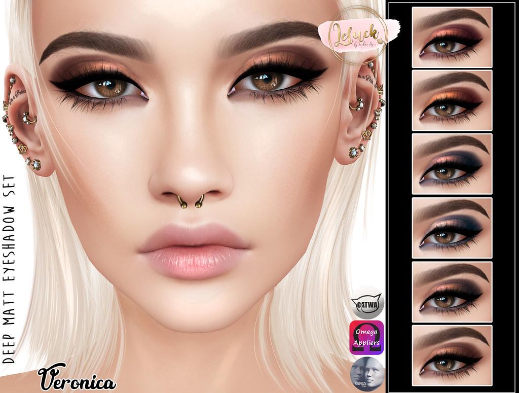 [LeLuck]DeepMatt Eyeshadow Veronica - TeleportHub.com Live!