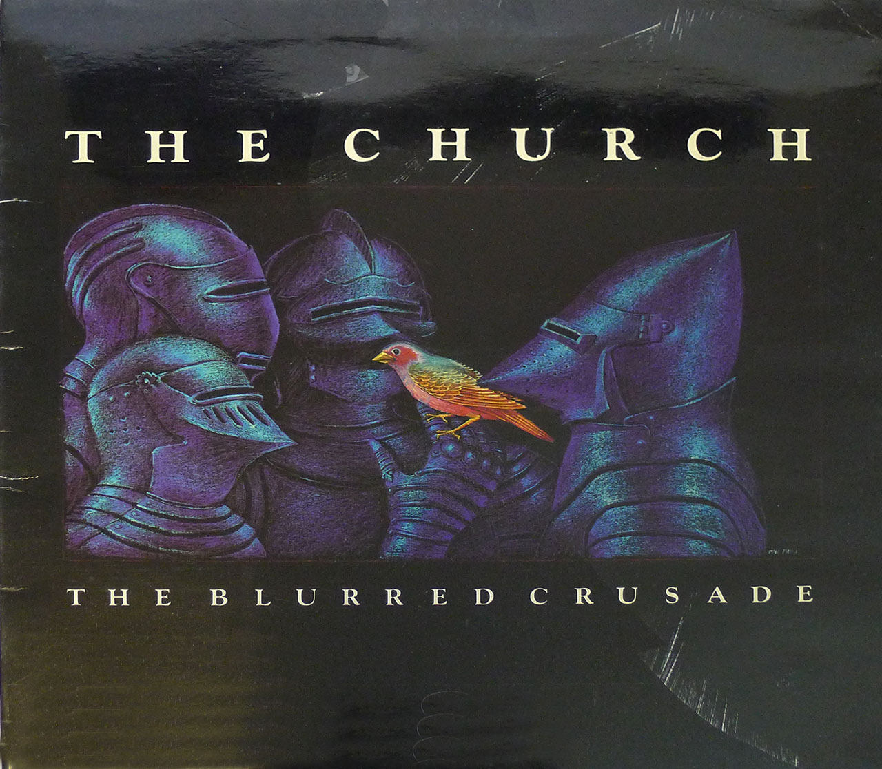 "THE CHURCH THE BLURRED CRUSADE 12"" LP GATEFOLD FOC"
