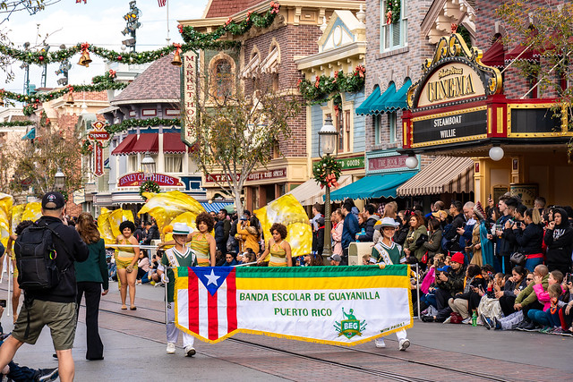 [美國 U.S.A] 洛杉磯 Los Angeles 迪士尼遊行 Disneyland parade
