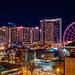 Downtown Atlanta at Night by Ian Aberle
