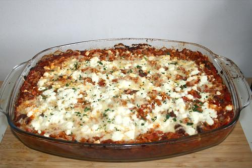 54 - Beef Giouvetsi - Finsihed baking / Giouvetsi vom Rind - Fertig gebacken
