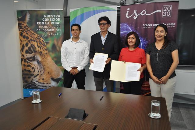 El Fondo Nacional del Ambiente –FONAM y la empresa Red de Energía del Perú S.A suscriben convenio de cooperación interinstitucional