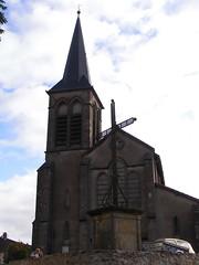 20080912 35608 1013 Jakobus Kirche Turm Kreuz