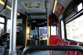 TTC 7060 interior