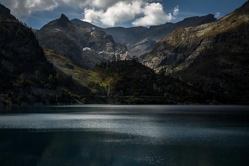 Lac d'Émosson, Suisse