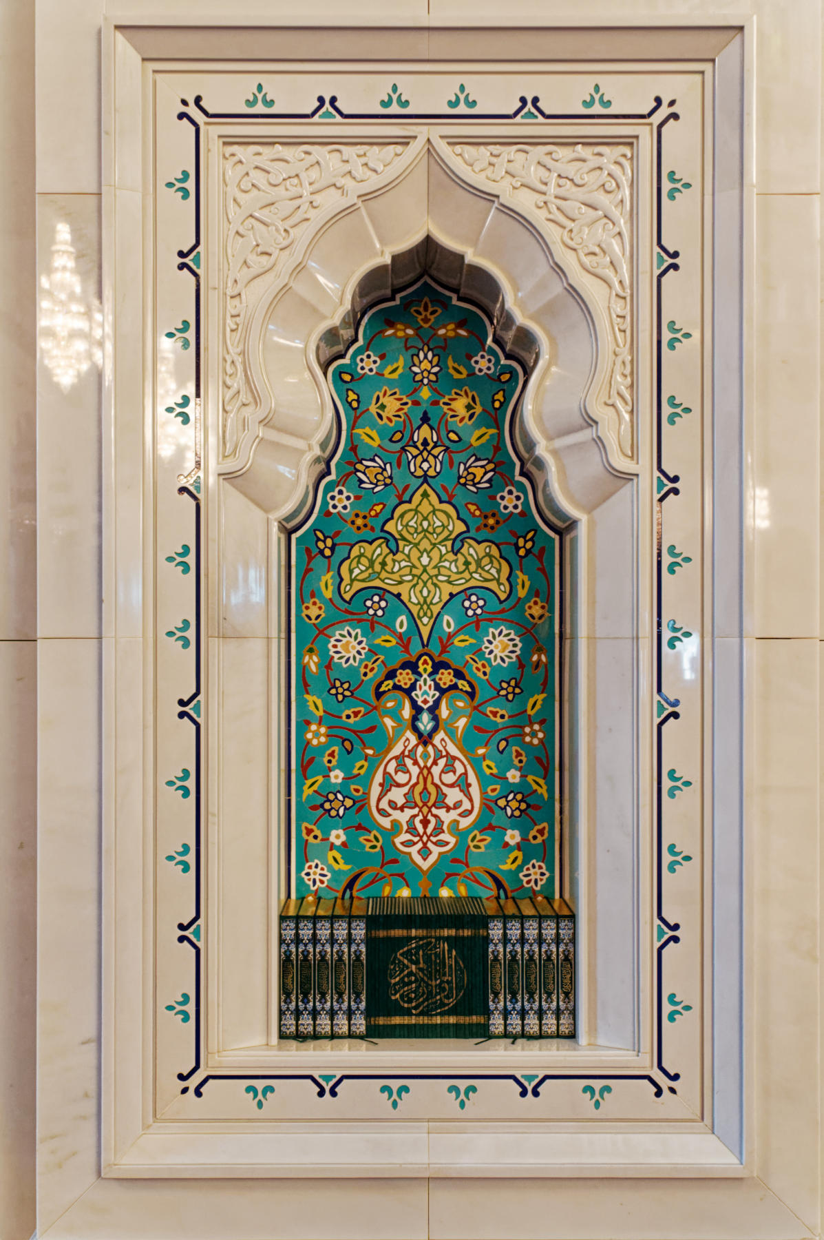 Niche inside Prayer Hall