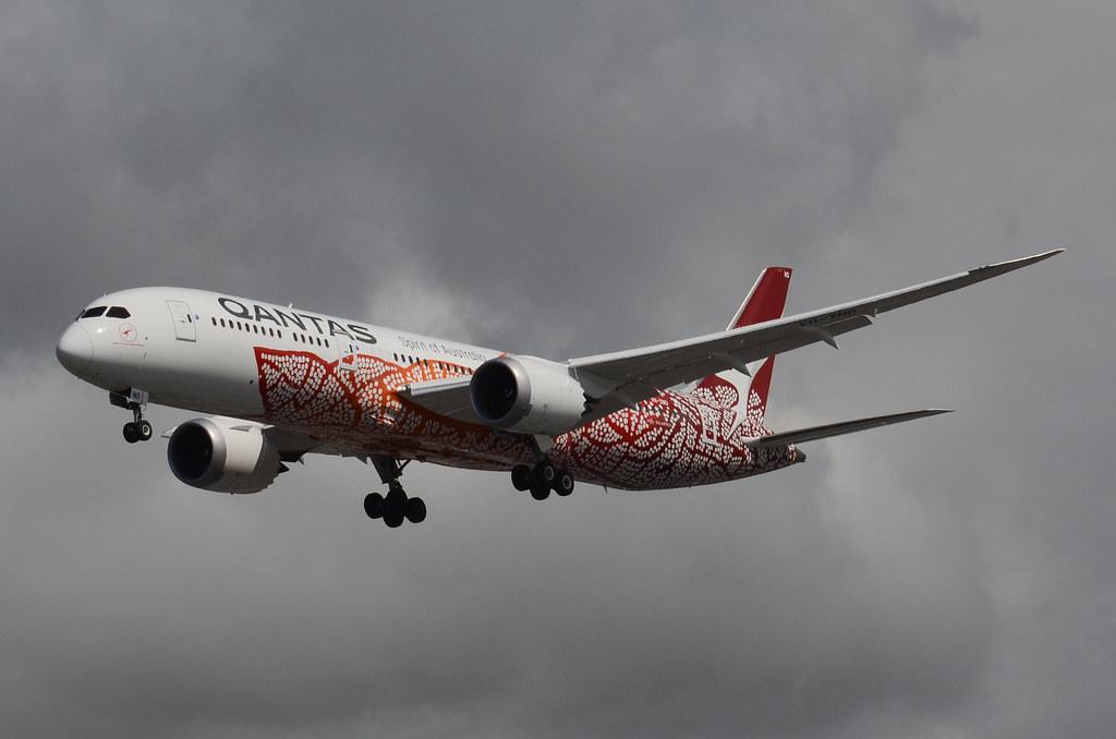 Qantas Airways Yam Dreaming Livery 787-900 Dreamliner (VH