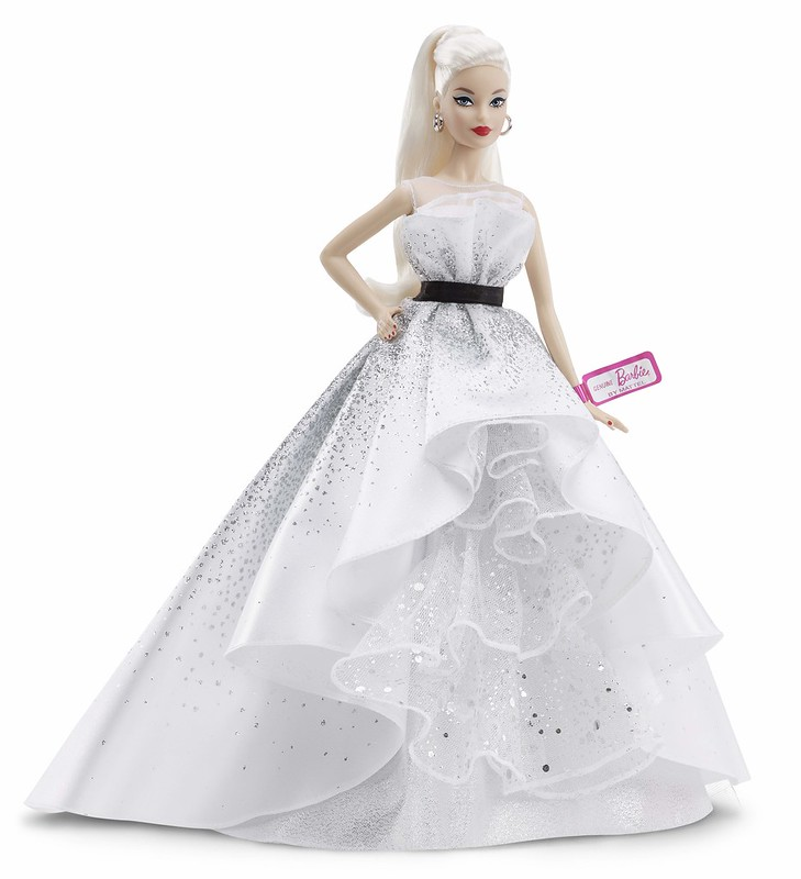 Barbie® 60th Anniversary Doll_LifestyleImage2 (FXD88) - RM249.90