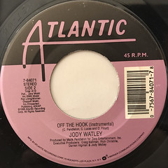 JODY WATLEY:OFF THE HOOK(LABEL SIDE-B)