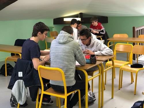Olympiade de mathématiques 2019
