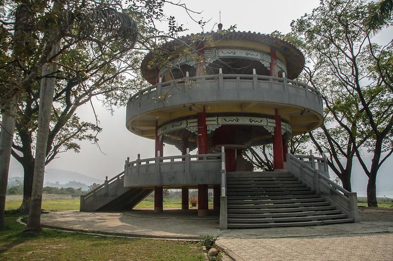 大埔湖濱公園涼亭