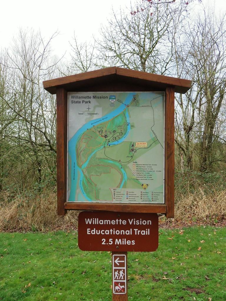 Willamette Mission State Park Trailhead