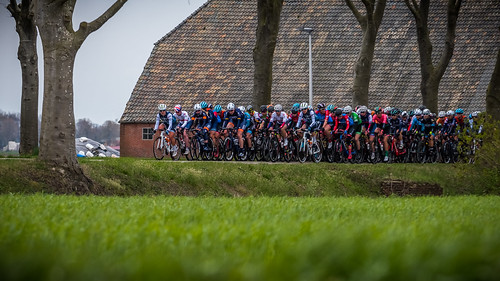 Lap 1. Peloton still together
