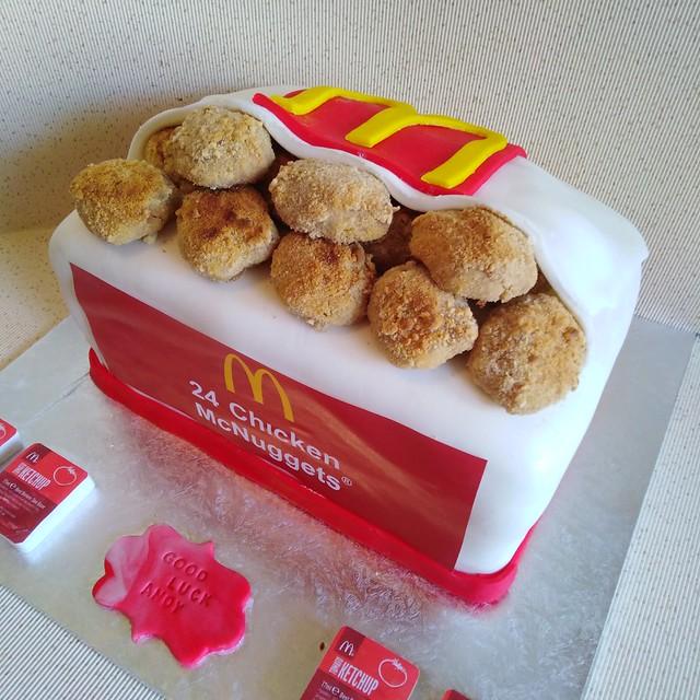 Mac Nuggets Cake by Daniel Yasmine of Sweet Dreams