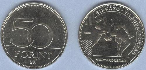 Maďarsko 50 Forint 2018, pamätná minca