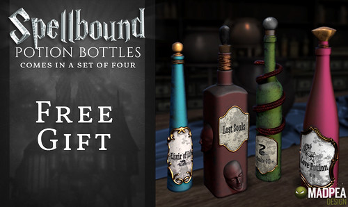 Spellbound Potions Free Gift - MadPea @ the World of Magic Event!