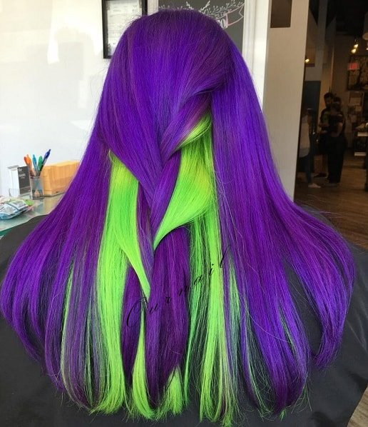 2019 Beautiful Blue and Purple Hair Color Ideas ...