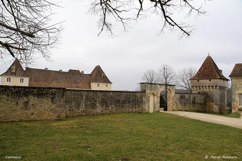 24 Connezac - Château XVI XVII