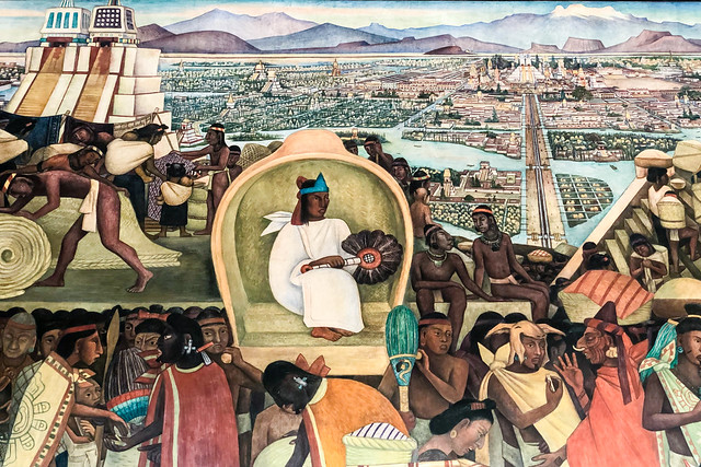 Depiction of Ancient Mexico City