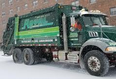 Royal Carting Mack Granite Truck In The Snow