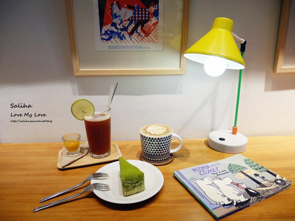台北中正紀念堂古亭站附近不限時咖啡廳下午茶好吃千層蛋糕生活在他方 (2)