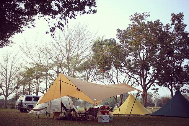 20190228 好舒服的天氣 #歐北露 #ilovecamping #campinglife #locusgear #tiitent