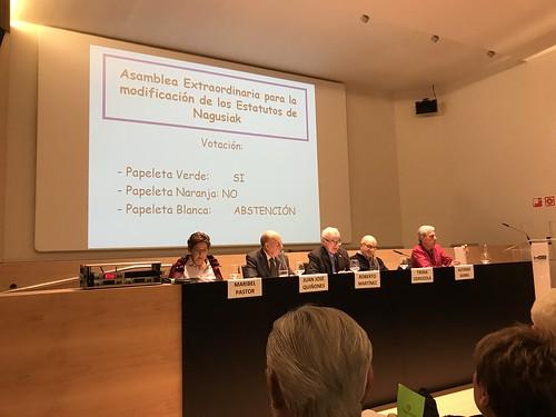 Nagusiak Asamblea General 2019