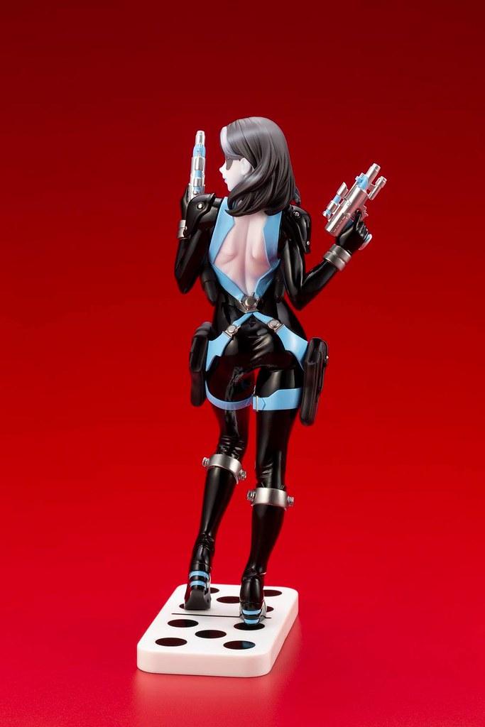 可愛俏麗的女傭兵登場! 壽屋 MARVEL美少女 系列【多米諾】ドミノ 1/7 比例PVC塗裝完成品