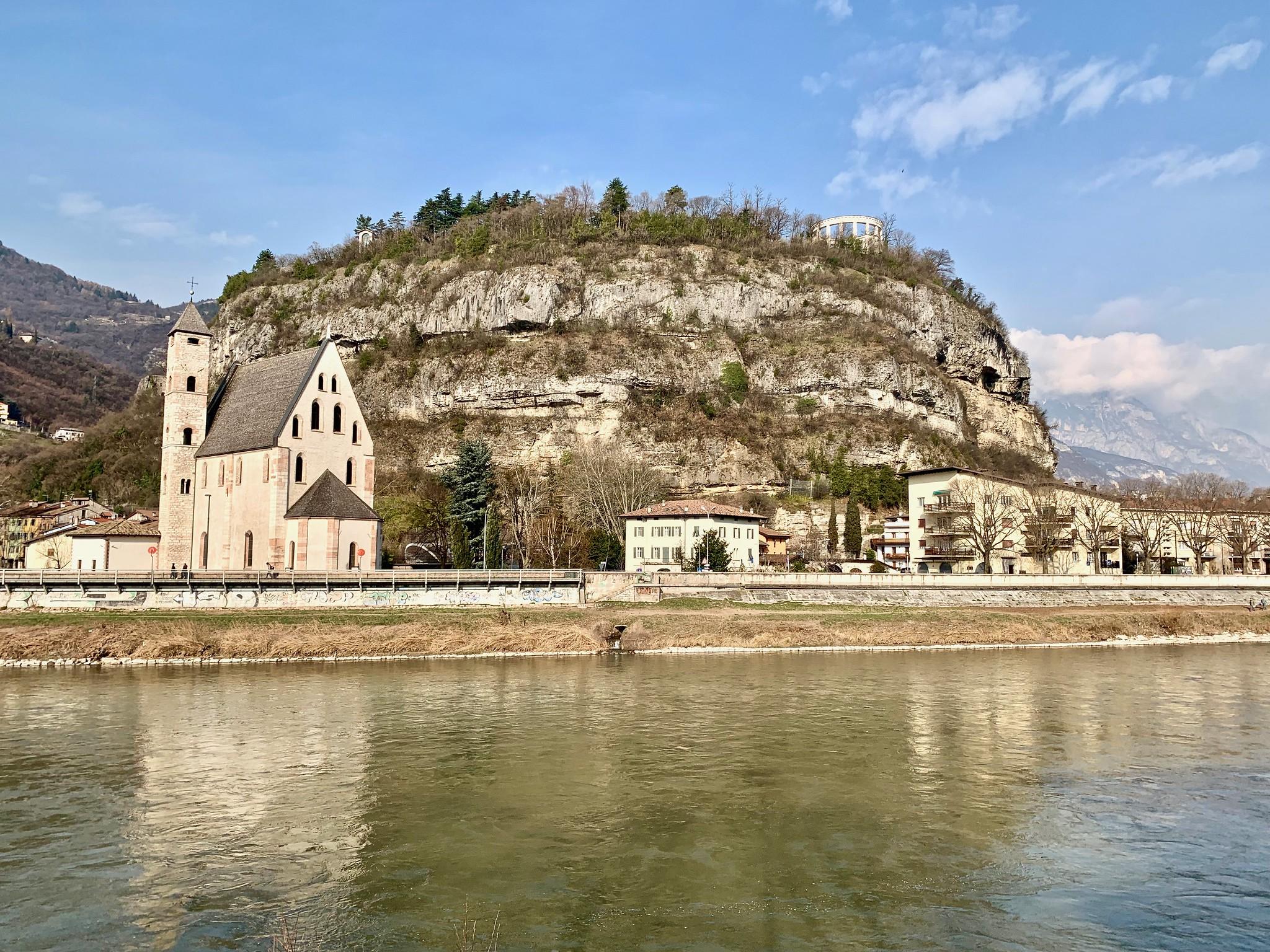 Itinerario di Trento - Doss Trento