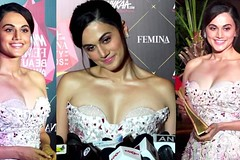Beautiful Taapsee Pannu At Nykaa Femina Beauty Awards
