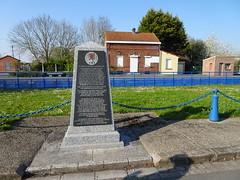 Saint-Venant Monument dédié aux officiers du Royal Welch Fusiliers