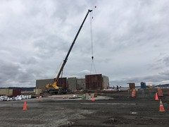 Mukilteo ferry terminal first walls
