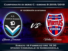 Giana Erminio - Virtus Verona 1-1 FINALE