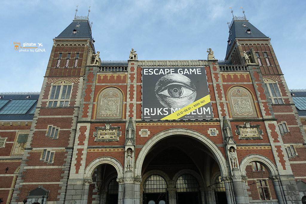 荷蘭自由行》荷蘭通行證(Holland Pass)阿姆斯特丹攻略 荷蘭國家博物館、梵高博物館、隨上隨下觀光巴士、運河遊船 @Gina Lin
