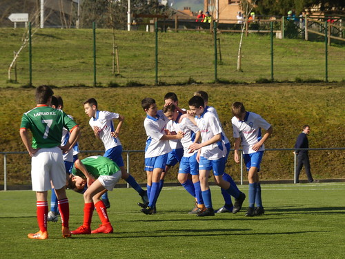 Infantil Mutilen Ohorezko Maila: Lagun Onak 1-0 Lazkao