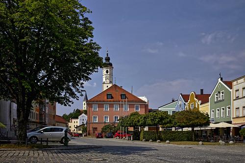 Auf dem Rathausplatz