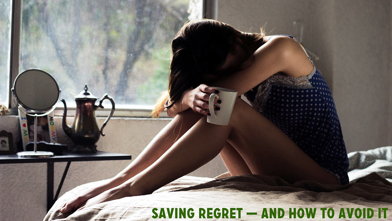 Saving Regret -- and How to Avoid It