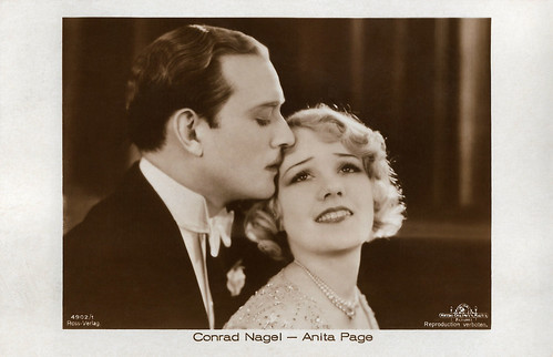 Conrad Nagel and Anita Page in The Hollywood Revue of 1929 (1929)